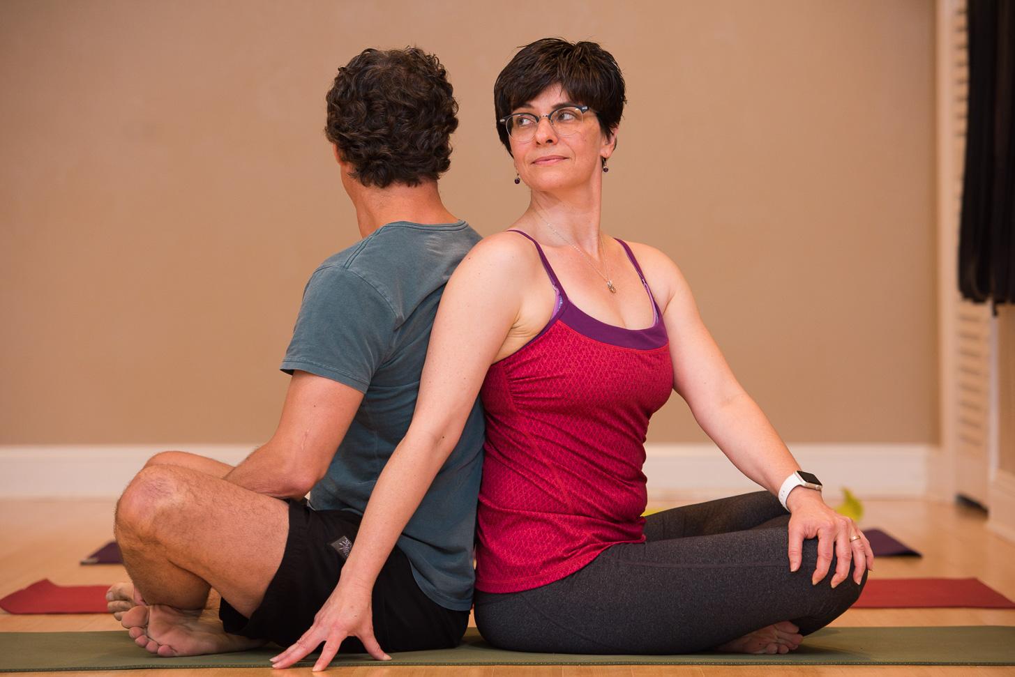 Study yoga at home
